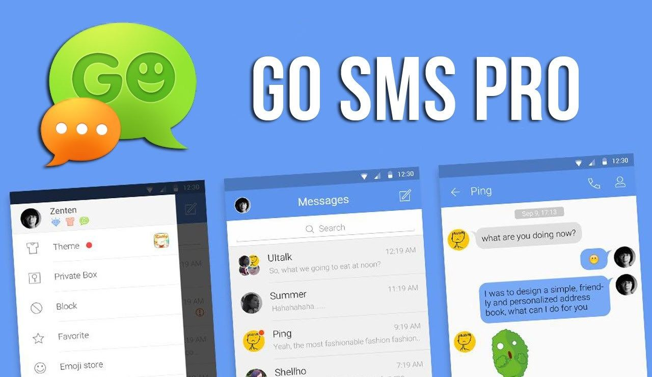 go sms pro latest version free download