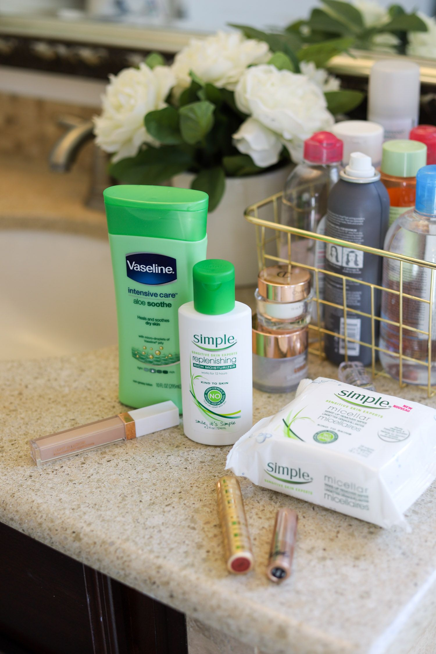 Best drugstore body and face lotion Beauty products