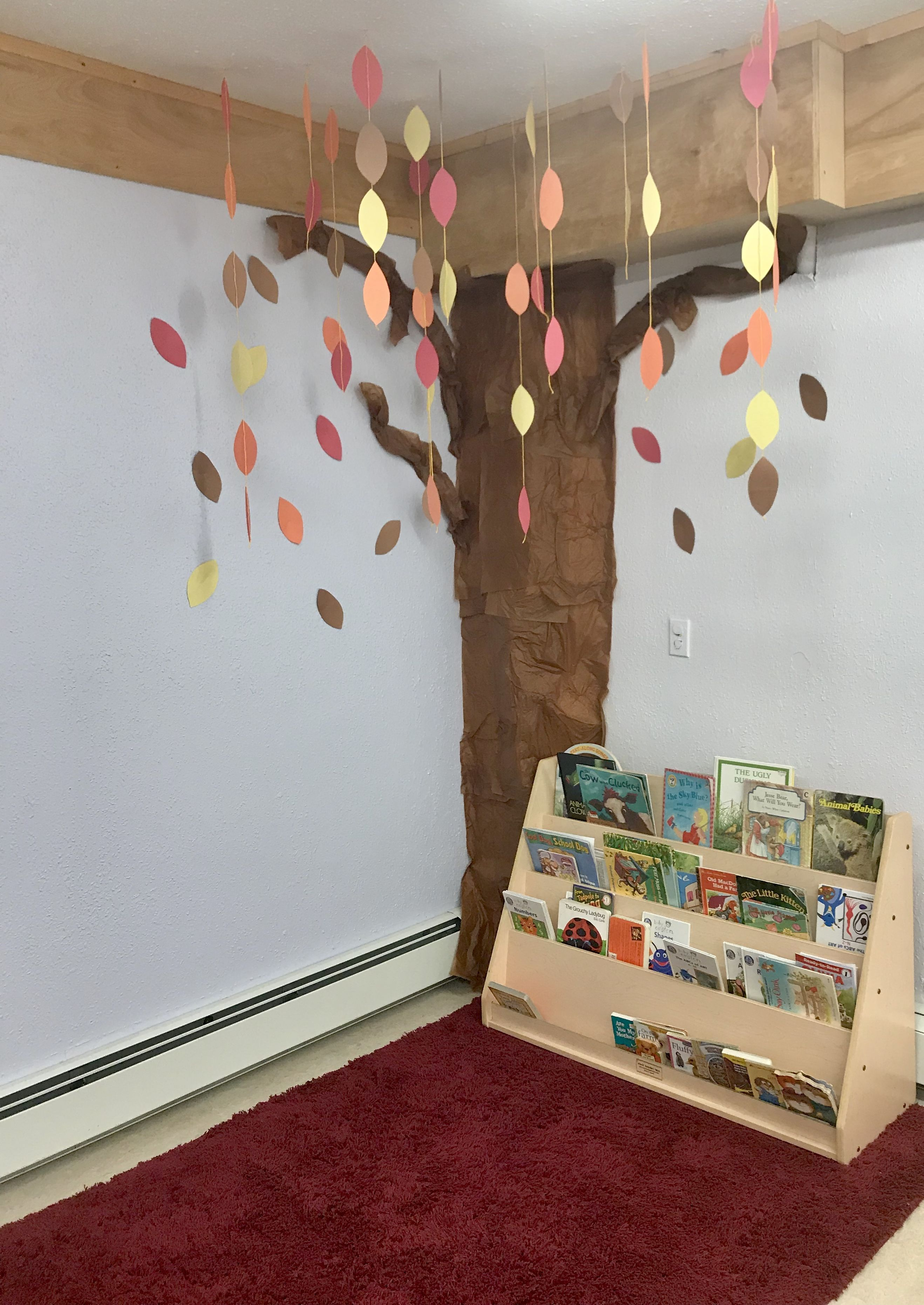 Daycare Paper Tree In Our Reading Corner