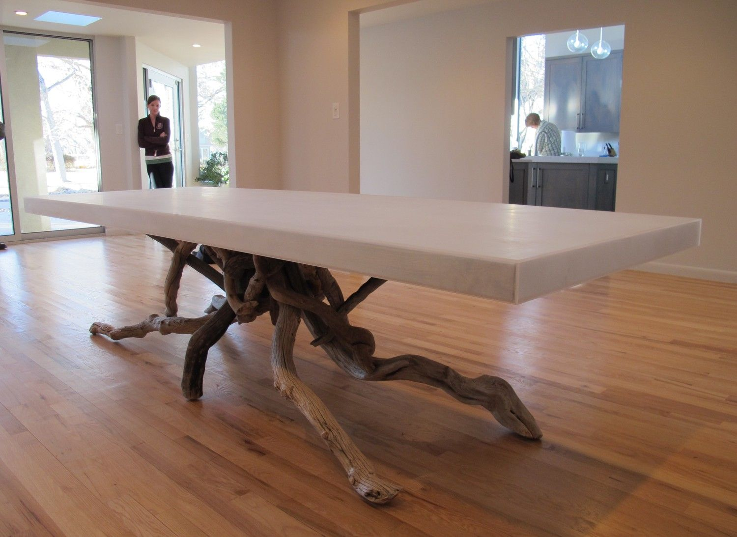 10 Ft Float Dining Table Etsy In 2020 Dining Table Driftwood