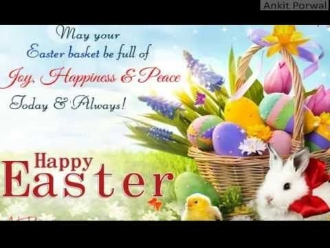 Happy easter wishes sms whatsapp video message greetings card easter negle Choice Image