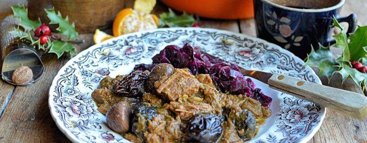 Christmas Eve Comfort Food – Christmas Carollers' Casserole: Elizabethan Spiced Beef Stew