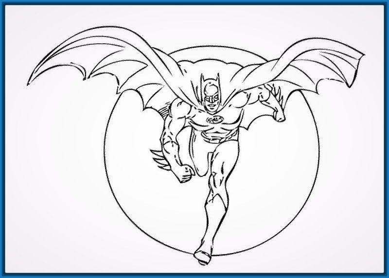 Imagenes de Batman para Pintar y Crear. | Imagenes de Batman | Para ...
