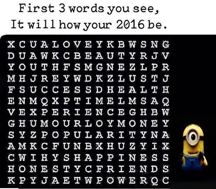 What are the first 3 words you see?