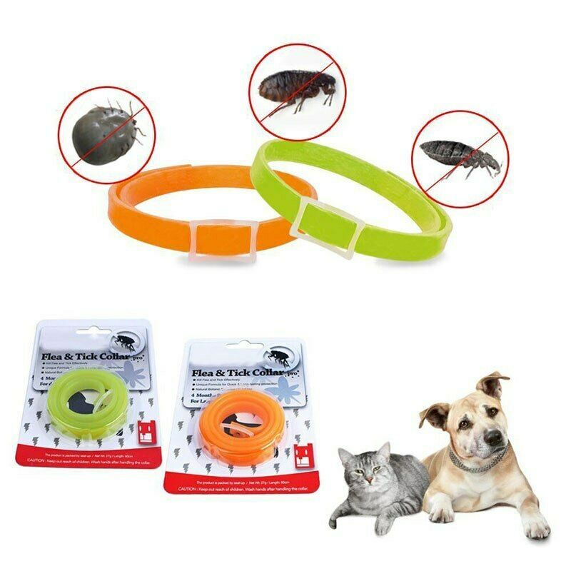 Details About Dog Cat Anti Lice Flea Mite Tick Collar Anti Mosquitoes Collars Kill Lice Cat Fleas