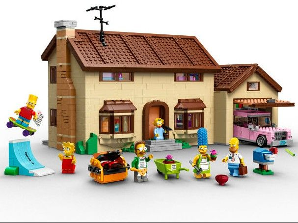 #simpsons home Huge #lego #toy set