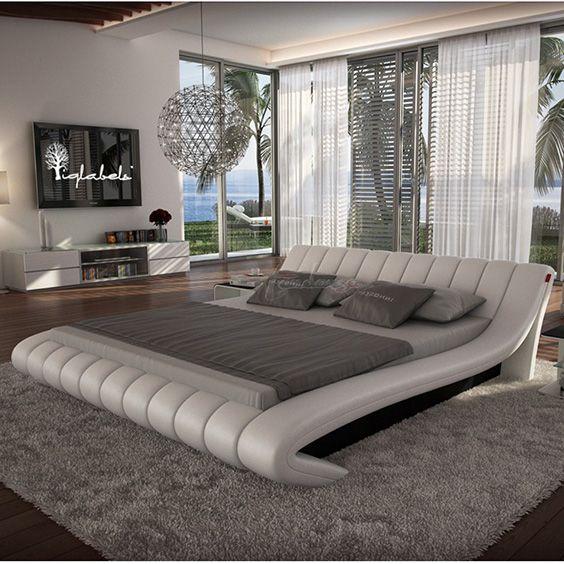 Best 58 Awesome Platform Bed Ideas Design Modern Bedroom 400 x 300