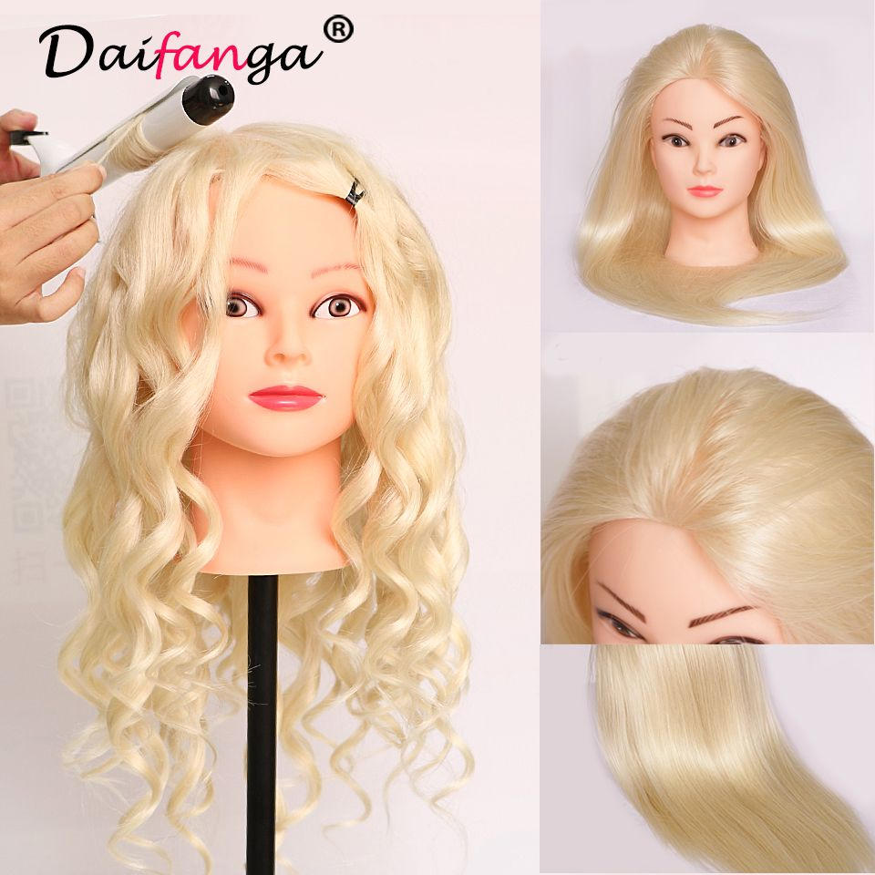 "22"" training head cosmetology mannequin heads mannequin head"