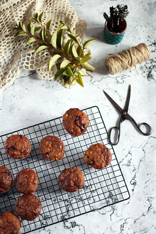 Muffinki dyniowo jabłkowe - pożywne i zdrowe