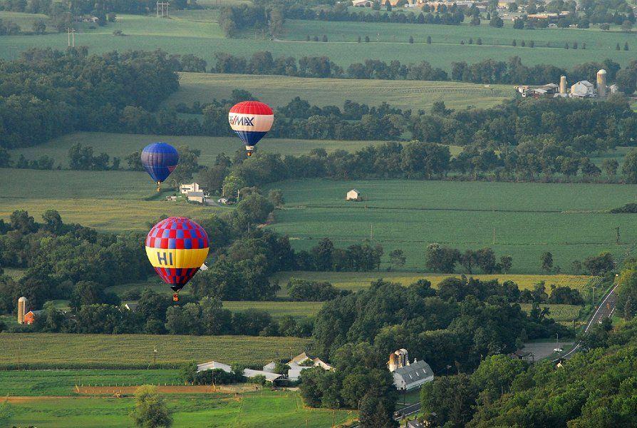 Our Beautiful Flying Area Warren County, NJ Balloon