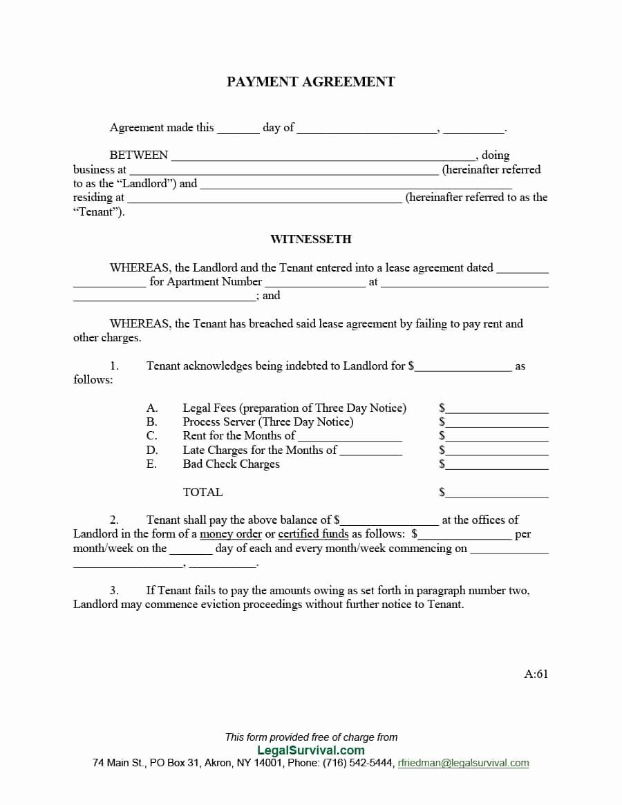 Simple Payment Agreement Template Best Of Payment Agreement 40 Templates Contracts Template L Payment Agreement Contract Template Business Plan Template Free