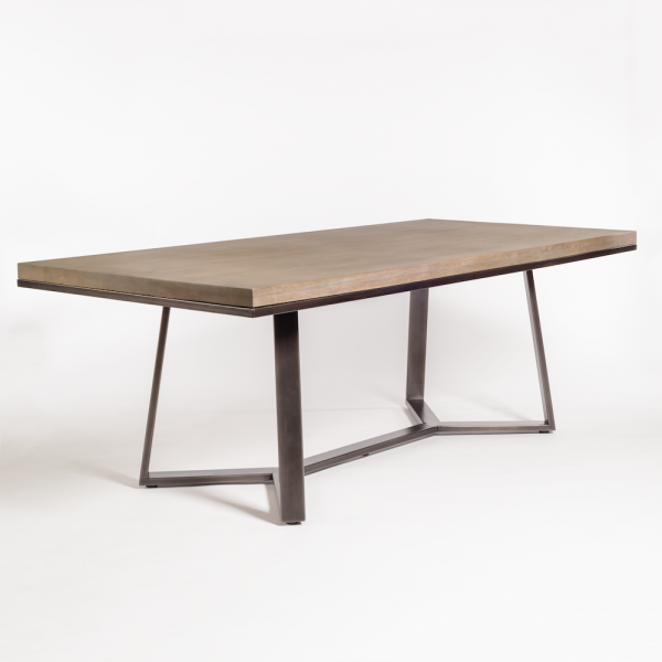 Sloan 84 Dining Table Dining Table Metal Dining Table