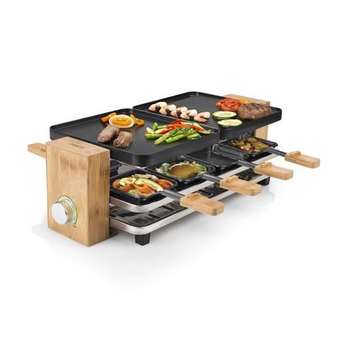 Cool Grill Princess 162910 Raclette Pure 8 Raclette Grill Pure Products Grilled Desserts