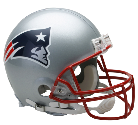 New England Patriots Authentic Nfl Full Size Helmet New England Patriots Football New England Patriots Helmet Football Helmets