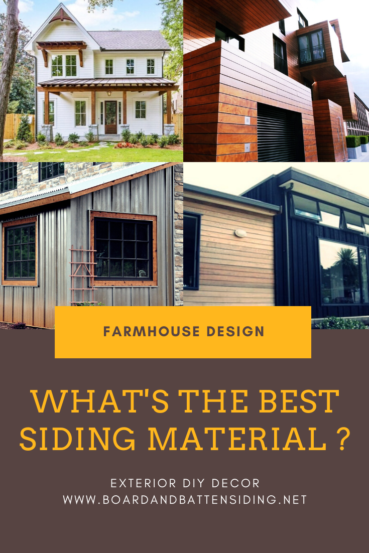 Best Siding Materials For Farmhouses In 2020 Farmhouse Exterior Exterior Design Farmhouse Design
