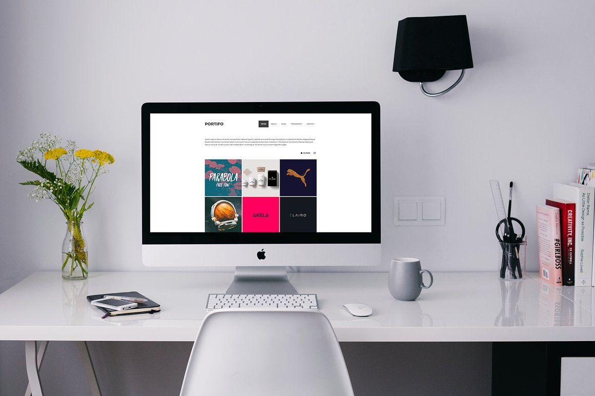 Portifo portfolio wordpress theme by niteothemes on