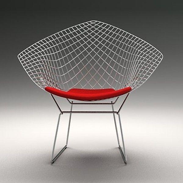 Harry Bertoia Diamond Chair 1952
