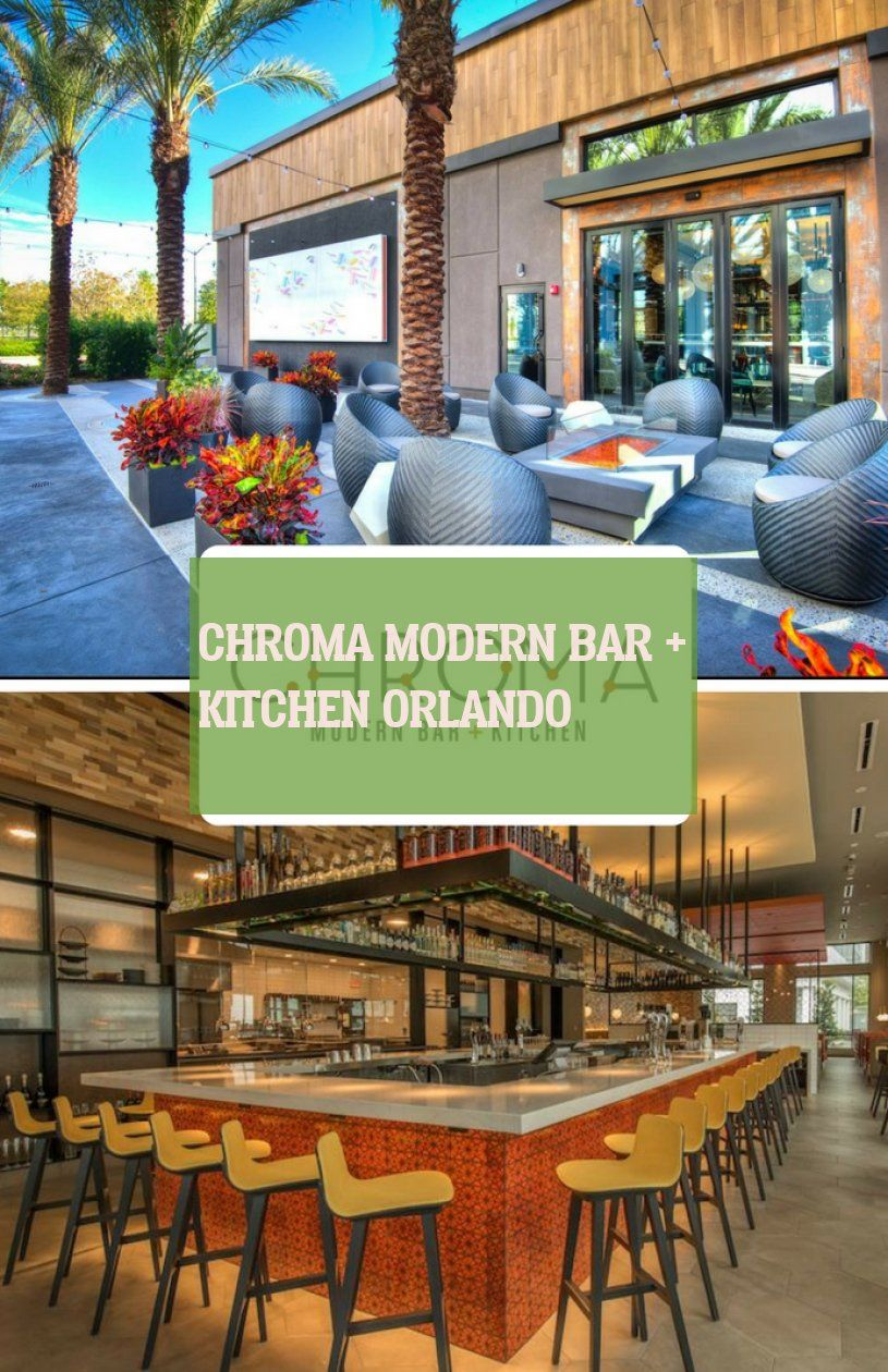 Chroma Modern Bar Kitchen Orlando Modern Kitchen Modern Bar Scandinavian Modern Kitchens Modern Kitchen Backsplash