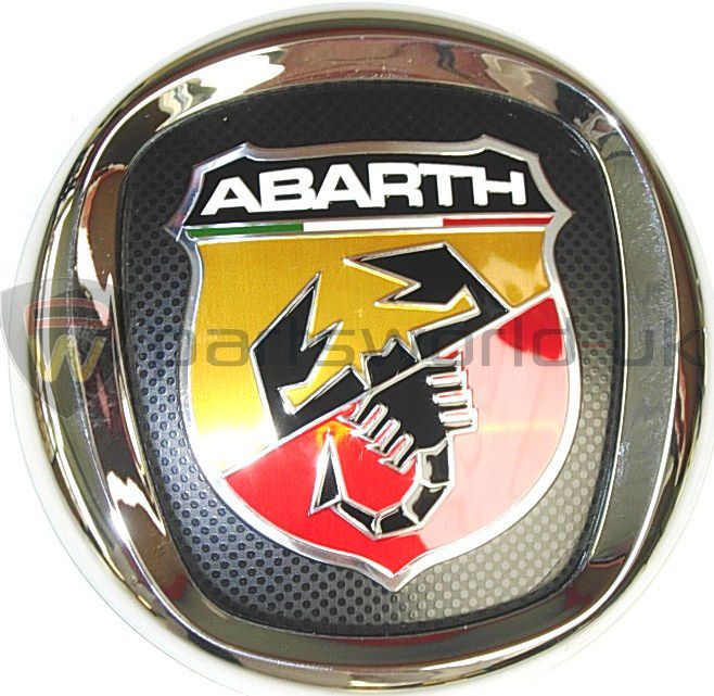 New Genuine Fiat Abarth Grande Punto Front Grille Badge 735495891