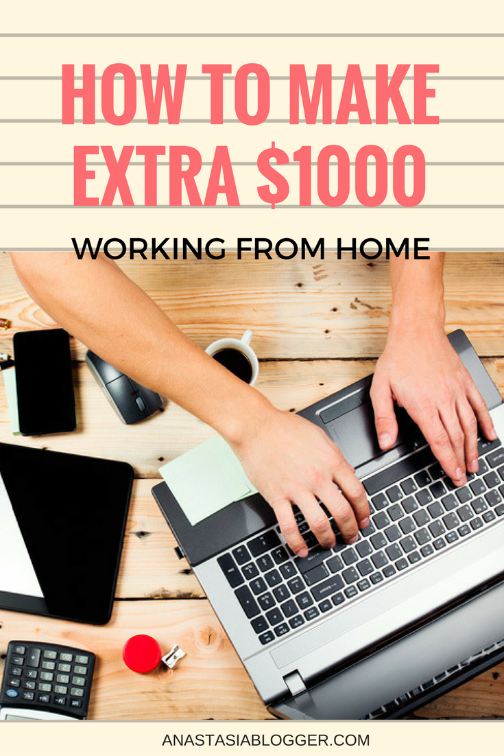 Ideas How To Make Money From Home Start Earning Today Money