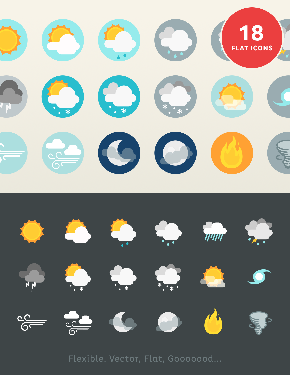 Lil Stories Weather Icons Weather Icons Icon Flat Design Icons