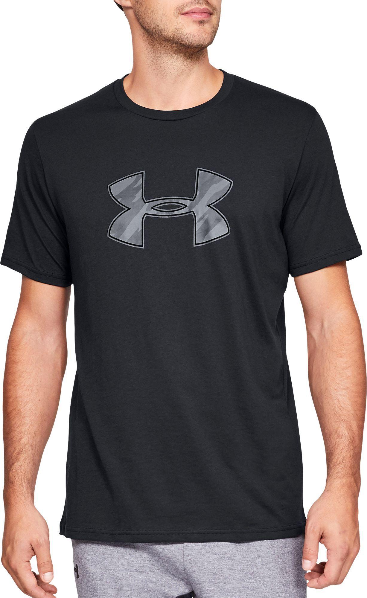 Tradicional Negrita comedia  Under Armour Men's Big Logo Graphic T-Shirt (Regular and Big & Tall) in  2020 | Under armour men, Under armour, Under armour outfits