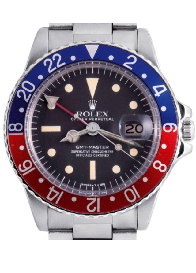 ♛ Rolex GMT Master I  #rolex #vintagerolex #vintagewatch #vintagewatches #pcg #gmt #gmtmaster #pepsi #1675 #16750 #mk1 #vintagehourwatches #vintagehour