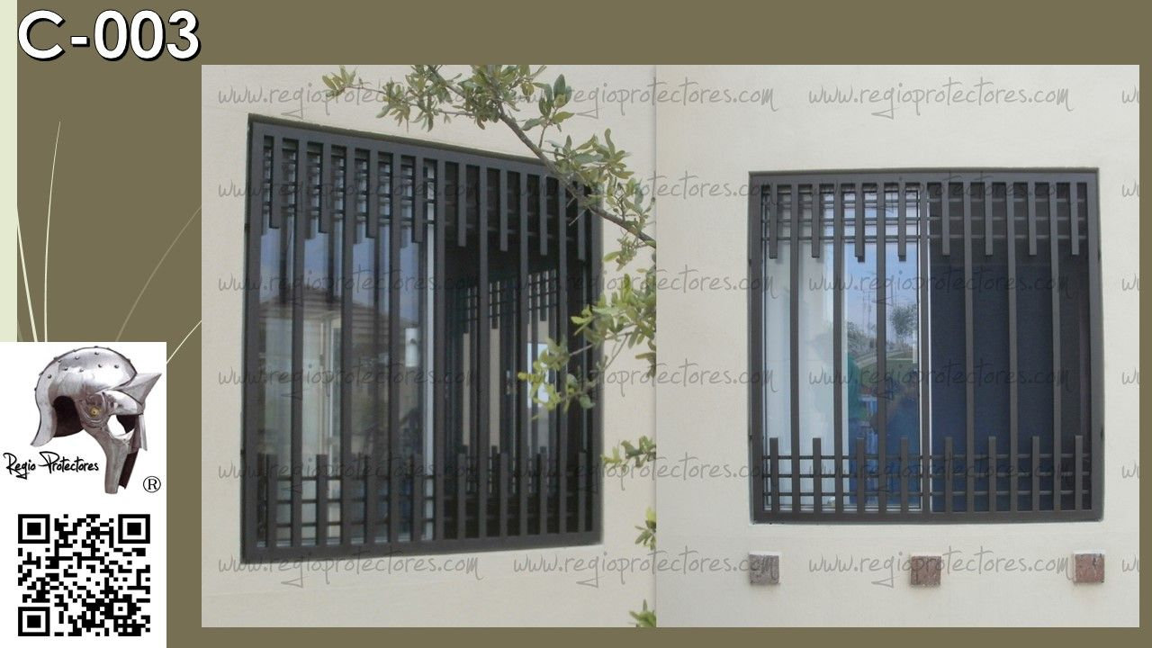 Proteccion de herreria para ventanas buscar con google for Puerta herreria moderna