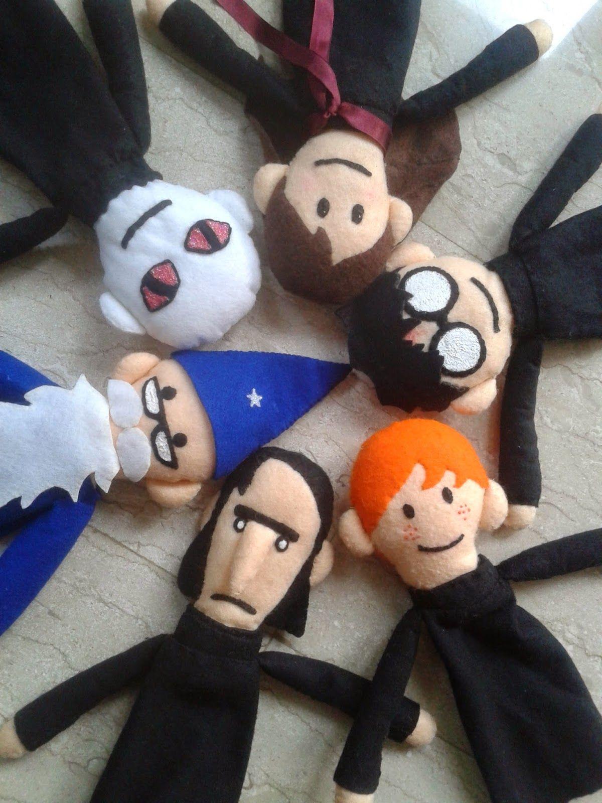 The Crafty Porpupine Diy Project Harry Potter Puppet Pals Harry Potter Puppets Harry Potter Dolls Harry Potter Puppet Pals