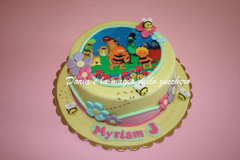 Torte Bambini ~ Torta ape maia maya cake children cakes torte bambini