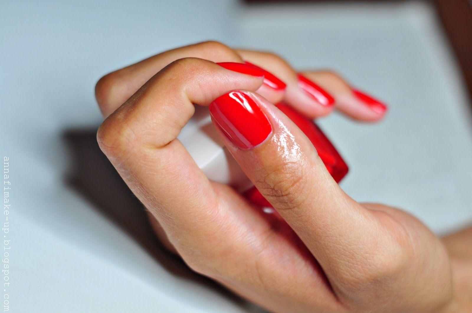Czerwone Paznokcie Manicure My Secret W 2019 Paznokcie Ladne