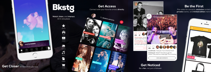 Bkstg launches to directly connect musicians with their fans