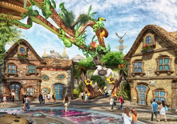 Ideattack Xinglong Adventure Theme Park Adventure Theme Theme Park Park