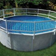 Cl ture s curitaire pour piscine hors terre s curit for Cloture amovible pour piscine