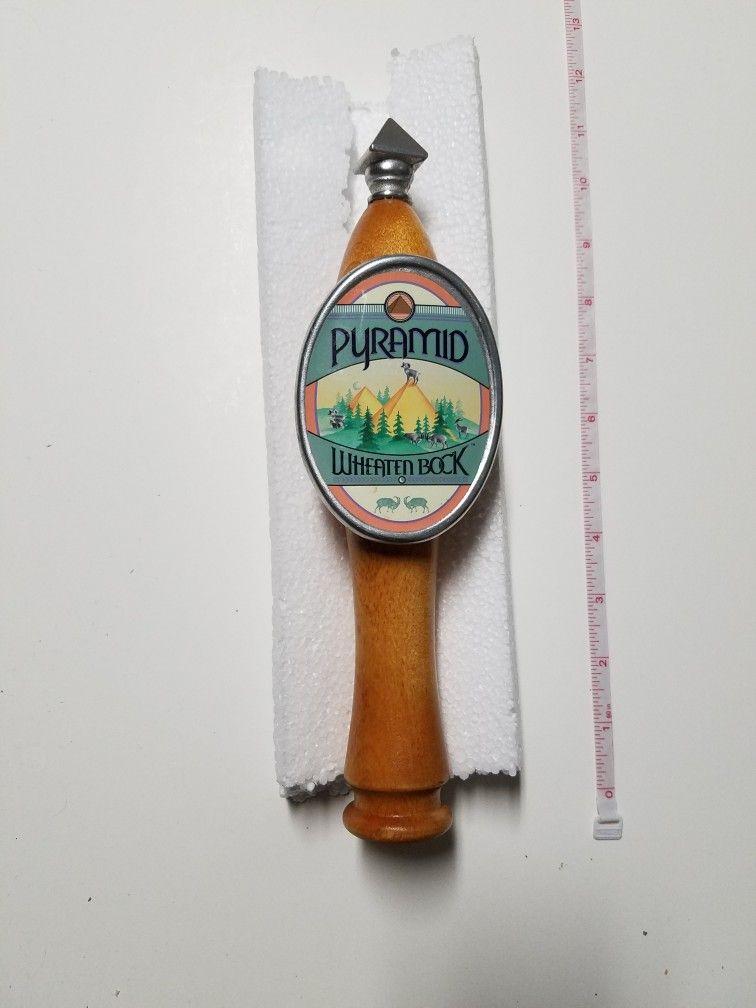 Pyramid Wheaten Bock Beer Tap Handle Beer Taps Sauce Bottle Handle
