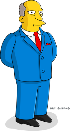 Gary Chalmers Simpsons Seymour Skinner Homer Simpson The