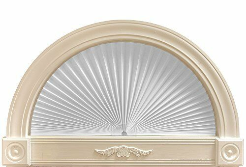 Original Arch Shade Light Filtering Window Curtains White Paper 36 X 72 Inch New 750227002546 E In 2020 Arch Light Stained Glass Window Film Arched Window Treatments