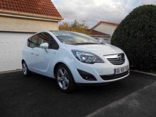 Opel Merivablack And White Www Laventerapide Com Vehicules