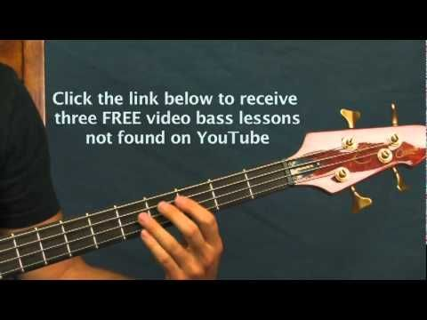 Easy Bass Guitar Lesson Another One Bites The Dust Queen Guitar