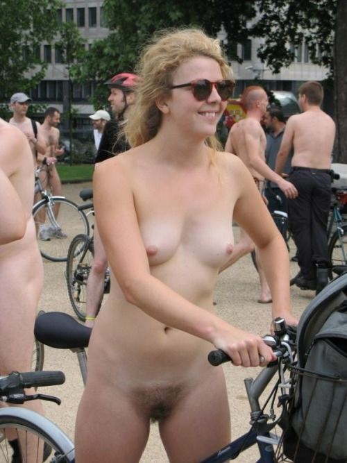 World Naked Bike Ride  Wnbr  Pinterest  Bicycle Girl -9246