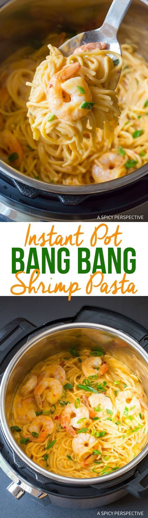 Photo of Easy Instant Pot Bang Bang Shrimp Pasta (Video) – A Spicy Perspective