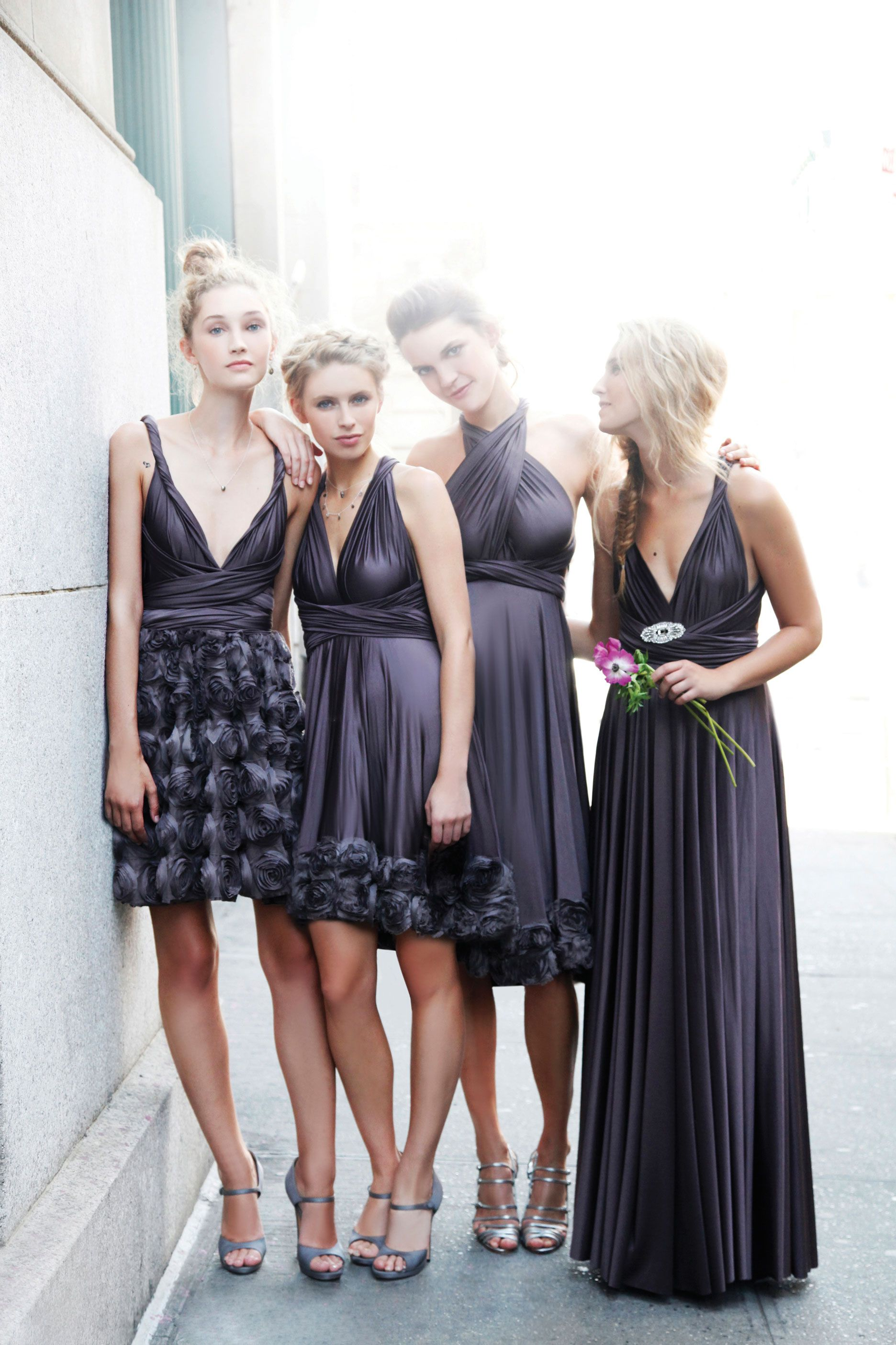Slate collection from twobirds bridesmaid featured on hitched slate bridesmaid dresses from two birds ombrellifo Image collections