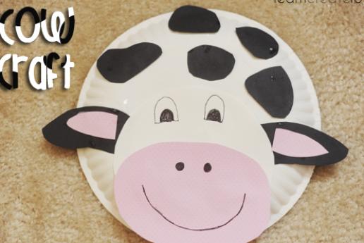 Farm Craft Valentine Paper Plate Crafts Paper Plate Crafts For Kids Easter Pig Paper Bastelarbeiten Basteln Fur Kindergartner Faschingsdeko Basteln