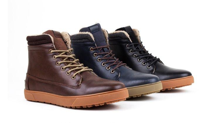 70a79e438 Harrison Men's Lined Sneaker Boots: Harrison Men's Lined Sneaker Boots