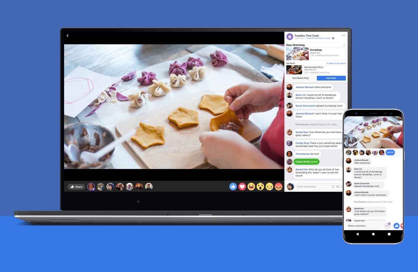 Watch Party Facebook Lets Groups Watch Videos Together Visual Contenting News Watch Party Facebook S Watch Video