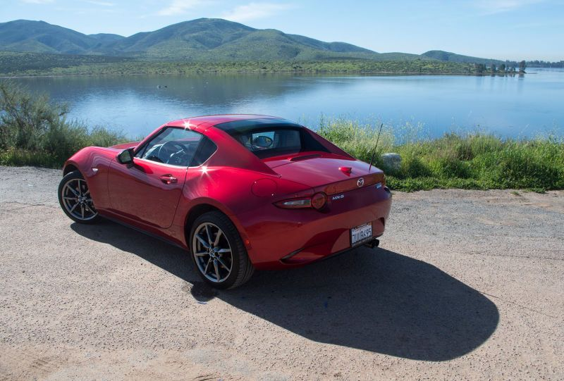 There's One Big Difference Between Driving A Mazda Miata