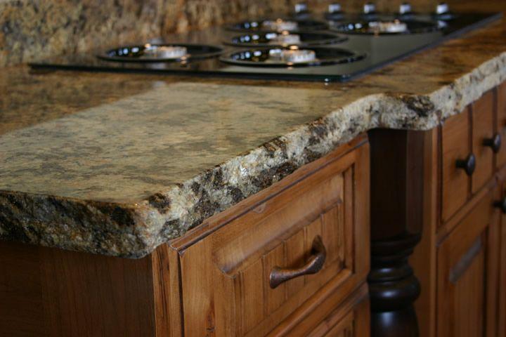 Kitchen Island Granite Edges laminated and chiseled edge! i like | ideas at work | pinterest