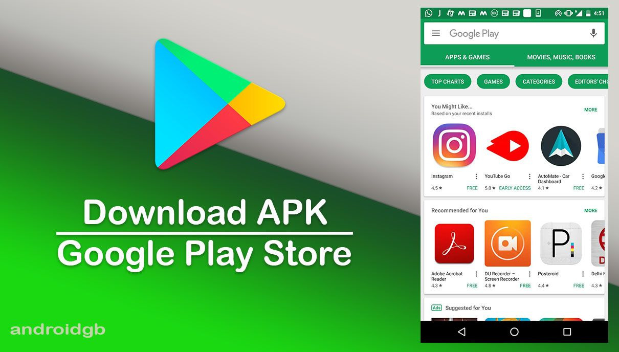 Play Store 10 6 08 Apk For Android Com Imagens