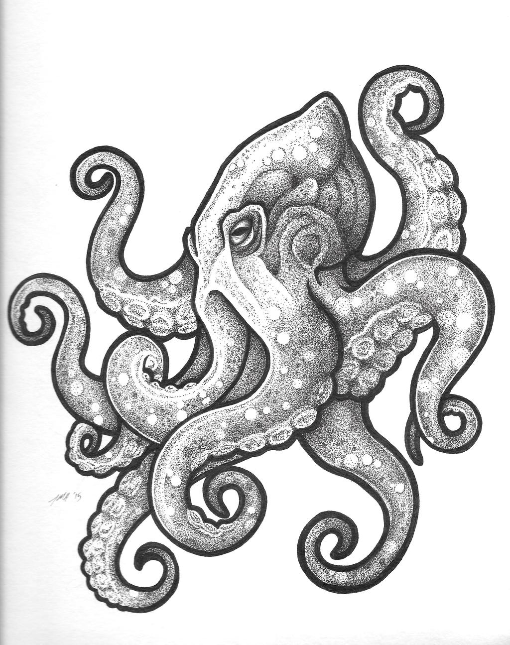 octopus design Recherche Google dessiner bientt Pinterest
