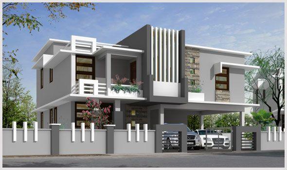Modern House Boundary Wall Main Gate Design Valoblogicom